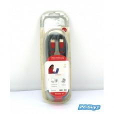 Firewire kabel 6-pinový až 6pinový 2,1m 6ft Belkin PC Mac do digitální videokamery