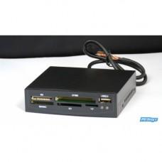 """Interní 3,5 """"paměťová karta Micro SD SDHC čtečka paměťových karet USB pro 9-kolíkovou desku"""