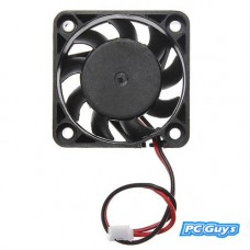 12V 2 pin 40mm mini 4cm DC Střídavý Počítačový chladič Chladicího PC ventilátoru - Černý
